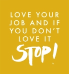 Love it or STOP! POSTER
